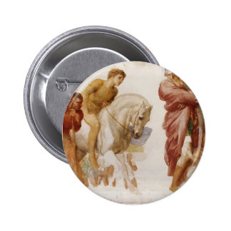 Study For Coriolanus by George Frederick Watts Pinback Button
