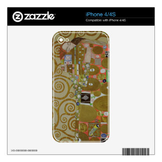 Study for Fulfilment, c.1905-09 (w/c & gold on pap Decals For The iPhone 4