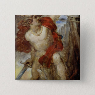 Study for Gaulish Courage, c.1830-32 Pinback Button