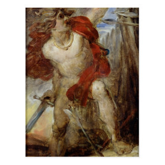 Study for Gaulish Courage, c.1830-32 Post Card