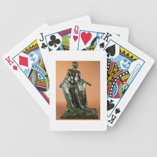 Study for Jean de Fiennes, from the Burghers of Ca Bicycle Playing Cards