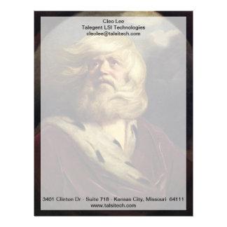 Study for King Lear - Joshua Reynolds Letterhead