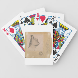 Study for 'Lamia', c.1904-05 (pencil on paper) Bicycle Playing Cards