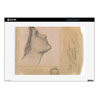"""Study for 'Lamia', c.1904-05 (pencil on paper) Decals For 15"""" Laptops"""