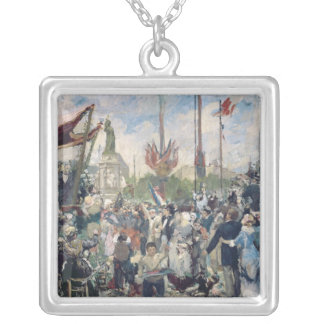 Study for 'Le 14 Juillet 1880', 1880-84 Silver Plated Necklace