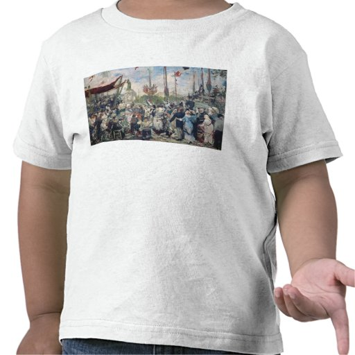Study for 'Le 14 Juillet 1880', 1880-84 T-shirts
