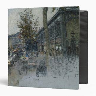 Study for Les Halles, 1893 Vinyl Binder