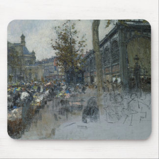 Study for Les Halles, 1893 Mouse Pad