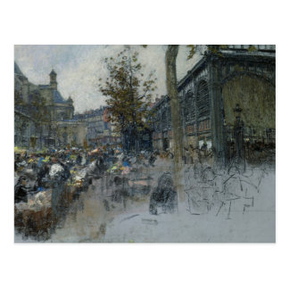 Study for Les Halles, 1893 Postcard