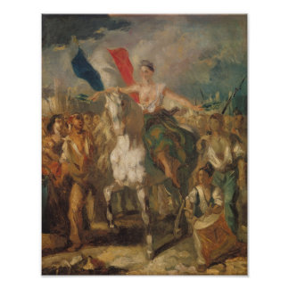 Study for 'Liberty', 1830 Posters