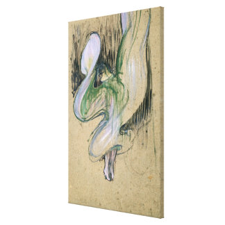 Study for Loie Fuller Canvas Print
