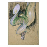 Study for Loie Fuller Card