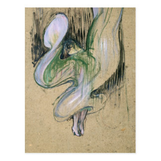Study for Loie Fuller Postcard