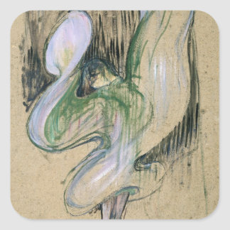 Study for Loie Fuller Square Sticker