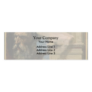 Study for Martyrdom by Jean Ingres Business Card Templates