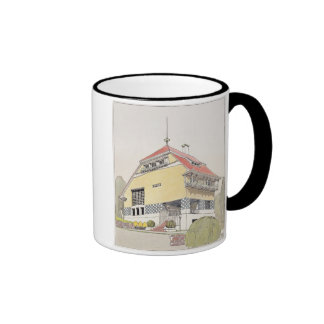 Study for Olbrich's House, Darmstadt, from 'Archit Ringer Mug
