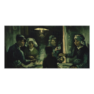 Study for Potato Eaters by Vincent Van Gogh Photo Greeting Card