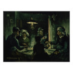 Study for Potato Eaters by Vincent Van Gogh Print