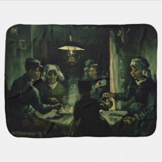 Study for Potato Eaters by Vincent Van Gogh Baby Blanket