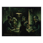 Study for Potato Eaters by Vincent Van Gogh Perfect Poster