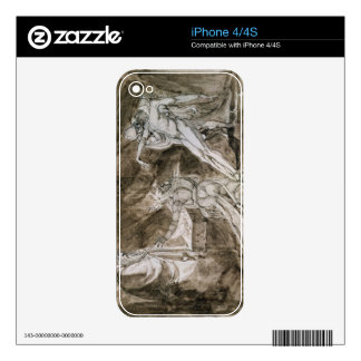 "Study for ""Saul and the Witch of Endor"" iPhone 4S Decal"