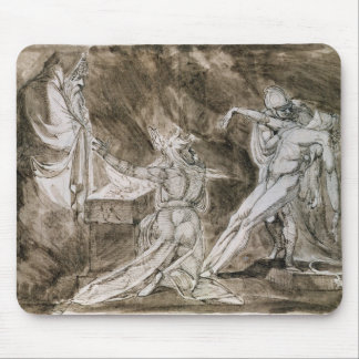 """Study for """"Saul and the Witch of Endor"""" Mouse Pad"""