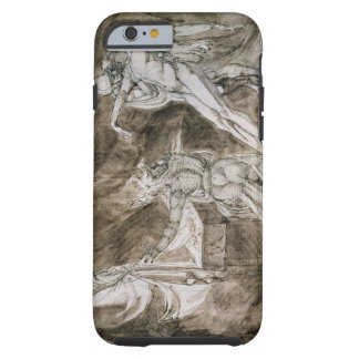 """Study for """"Saul and the Witch of Endor"""" Tough iPhone 6 Case"""