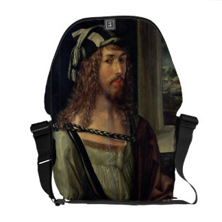 Study for Self Portrait with a Glove, c.1498 Courier Bag