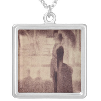 Study for Sunday Afternoon Silver Plated Necklace