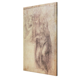 Study for the Annunciation Canvas Prints