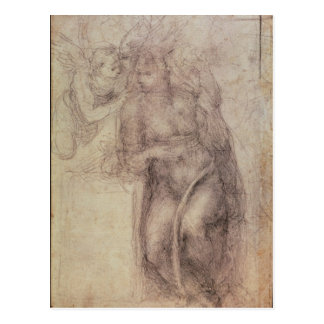 Study for the Annunciation Postcard