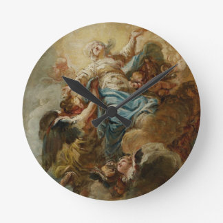Study for the Assumption of the Virgin, c.1760 2 Round Clock