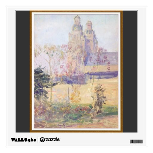 Study for 'The Cathedral Tours' by Guy Rose Wall Sticker