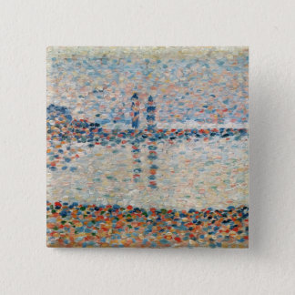 Study for 'The Channel at Gravelines Evening' Pinback Button