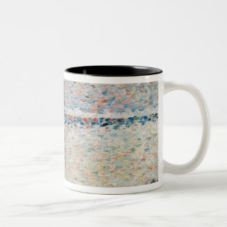 Study for 'The Channel at Gravelines Evening' Two-Tone Coffee Mug