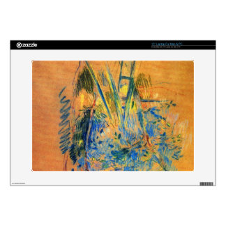 "Study for the cherry tree by Berthe Morisot 15"" Laptop Decal"