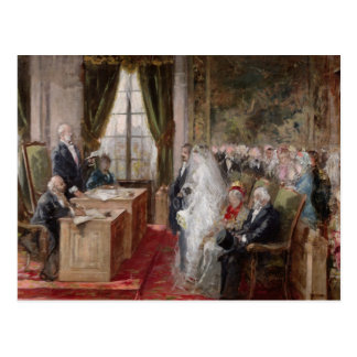 Study for the Civil Marriage Postcard