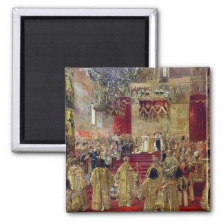Study for the Coronation of Tsar Nicholas II Magnet