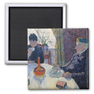 Study for The Dining Room, c.1886 Magnet