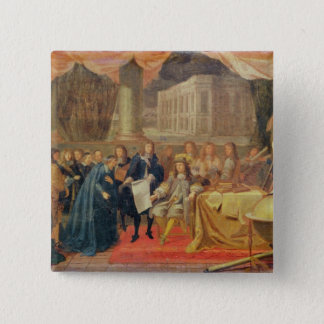 Study for The Establishment of the Academie Pinback Button
