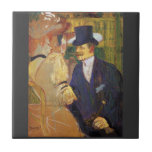 Study for the flirt,Englishman in the Rouge Ceramic Tiles
