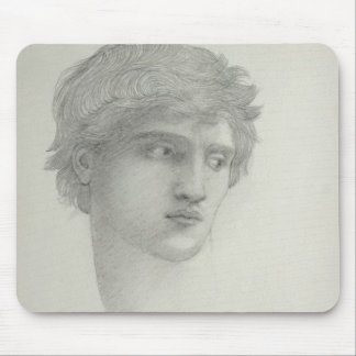 Study for the Head of Perseus (pencil on paper) Mouse Pad