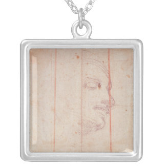 Study for the Head of the Libyan Sibyl Necklaces