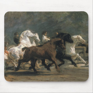 Study for the Horsemarket, 1900 Mouse Pad