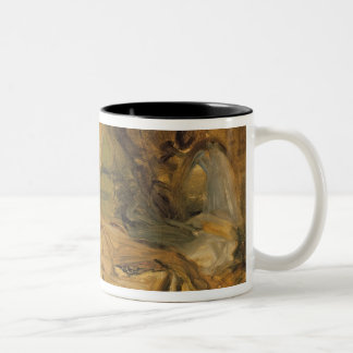Study for the Interior of a Harem Two-Tone Coffee Mug