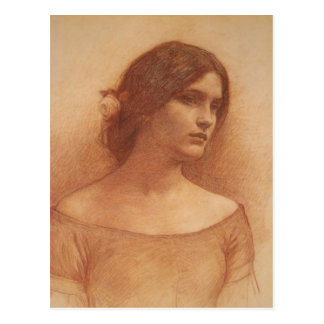 Study for The Lady Clare Postcards