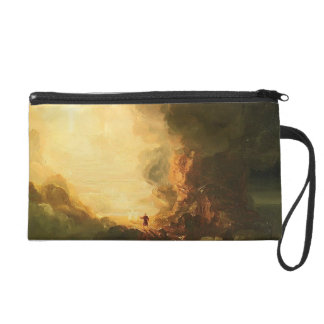 Study for The Pilgrim of the Cross by Thomas Cole Wristlet Purses