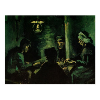 Study for The Potato Eaters by Vincent van Gogh Postcard