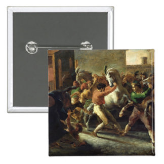 Study for the Race of the Barbarian Horses, 1817 Button