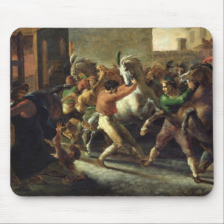 Study for the Race of the Barbarian Horses, 1817 Mousepads